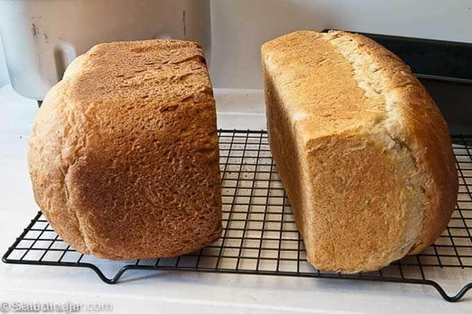 comparing crust texture