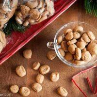 Crunchy Gingerbread Bites (Pfeffernusse)