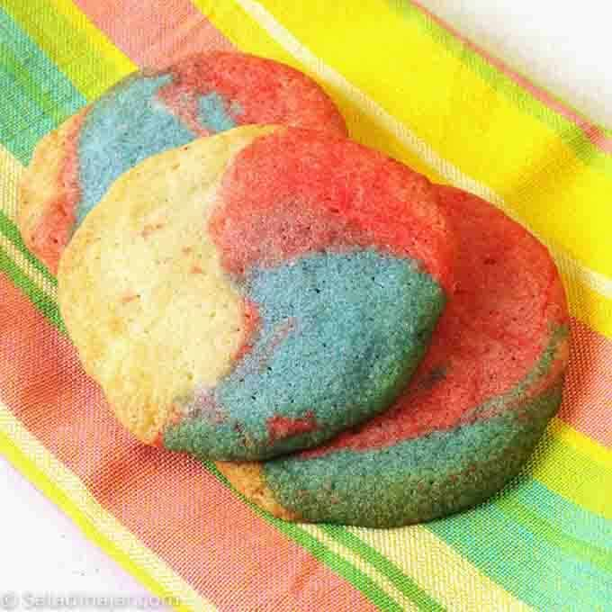 birthday party sugar cookies