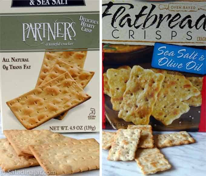 cracker suggestions to go with dip