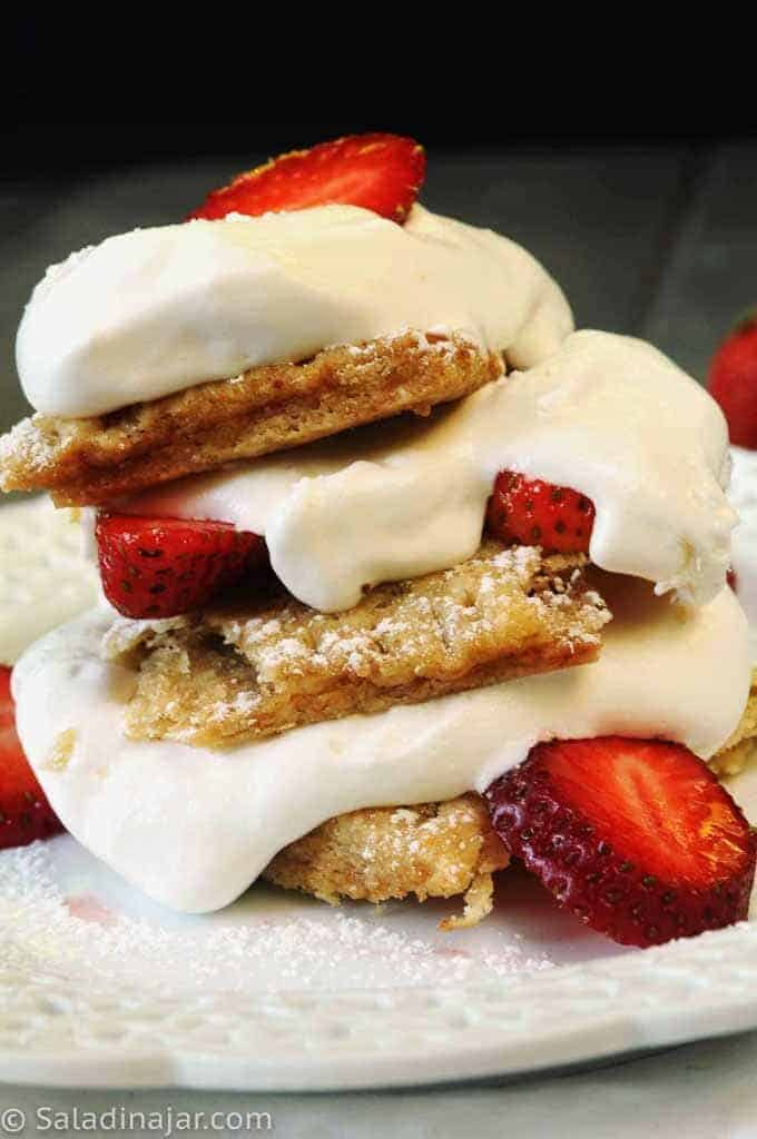strawberry shortcake made with poptarts
