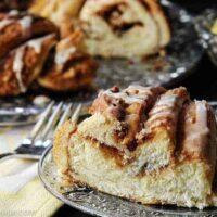 bread machine coffee cake recipe--slice