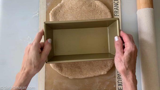 measuring the dough
