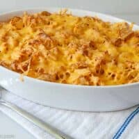 Chicken and Potato Chip Casserole Without Canned Soup