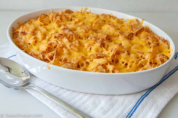 Potato Chip Casserole Recipe Without Canned Soup