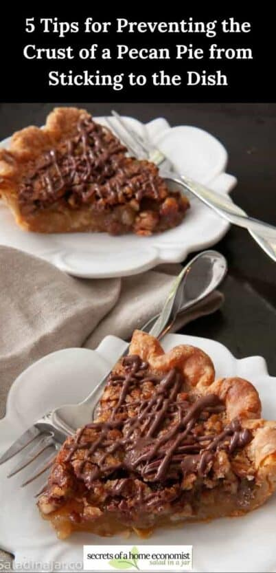 Pinterest Image for Brown-Butter Pecan PIe