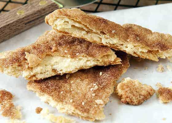 cinnamon sugar pie crust