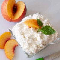 ricotta cheese made from yogurt whey