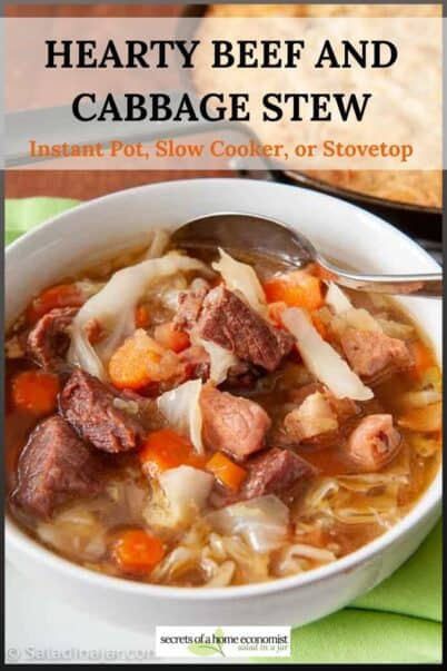 Hearty Beef and Cabbage Stew