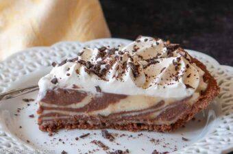 slice of Zebra Cream Pie