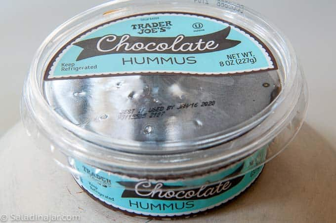 Chocolate Hummus from Trader Joes