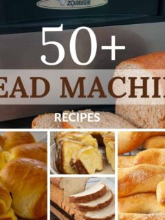 title picture showing various bread recipe pictures