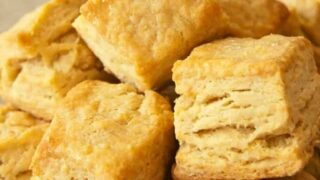 Flaky Biscuit Recipe Made with Yogurt Whey
