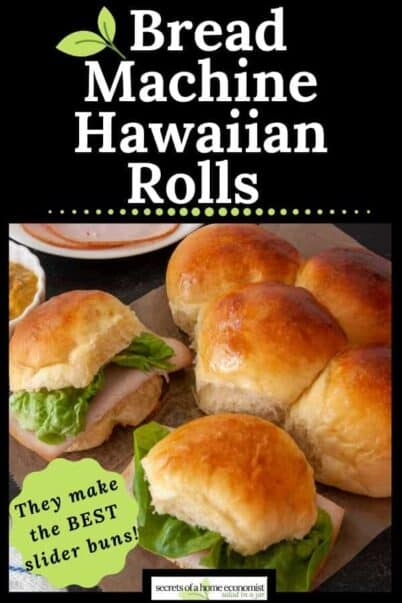pinterest imaged for Hawaiian Rolls