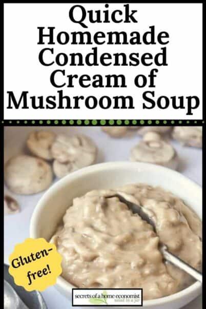 pinterest image of mushroom soup