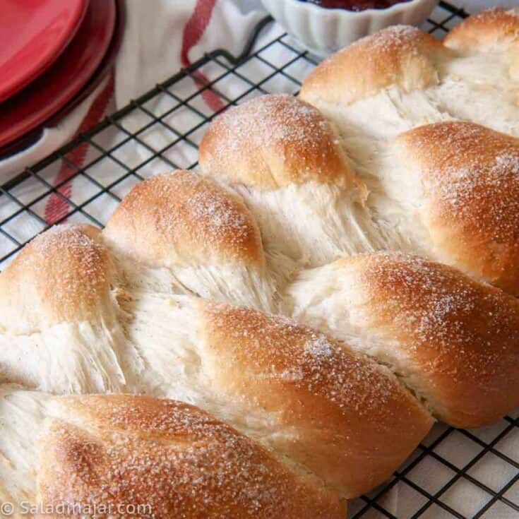 bread machine swedish cardamom braid