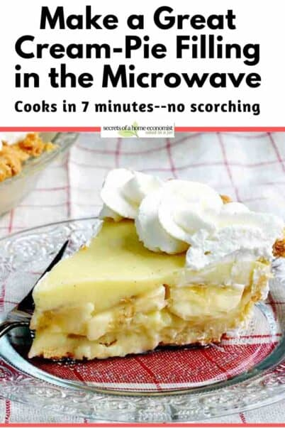 Pinterest Image for Microwave Pie Filling