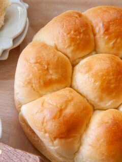 Baked Classic Dinner Rolls from a Bread Machine