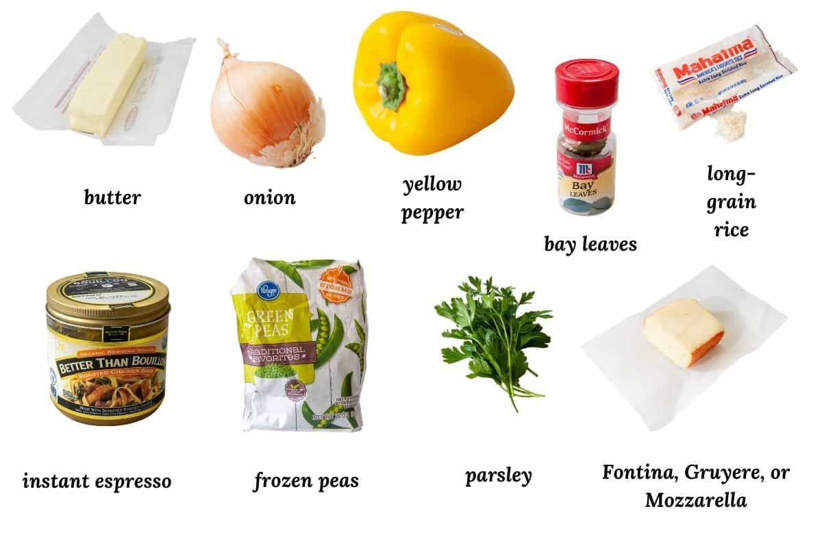 collage of ingredients needed for this recipe