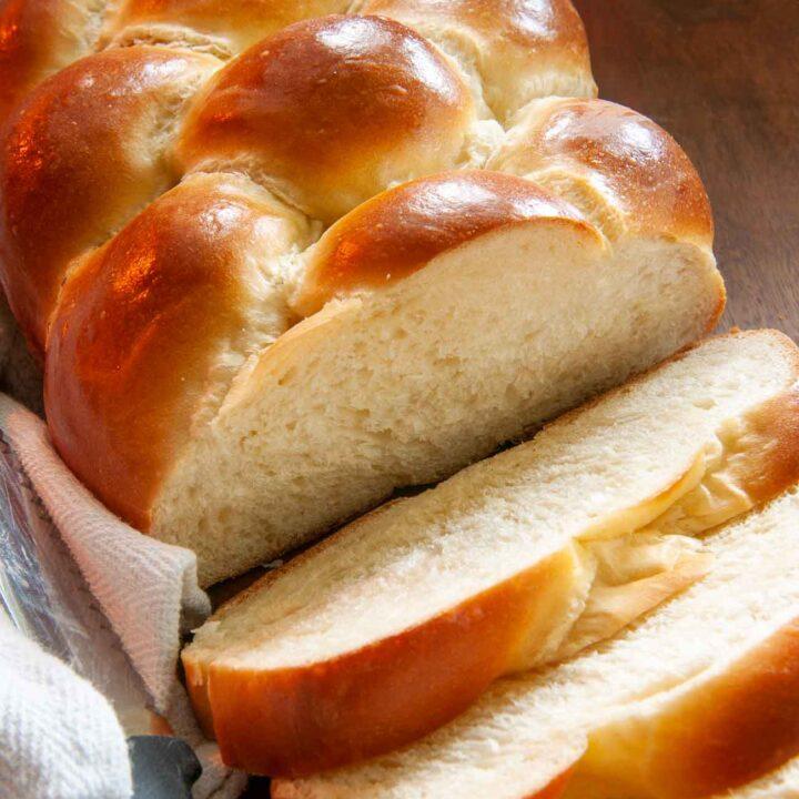 sliced bread machine challah