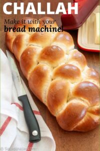 baked challah (Pinterest Image)