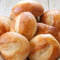 sourdough bread dinner rolls