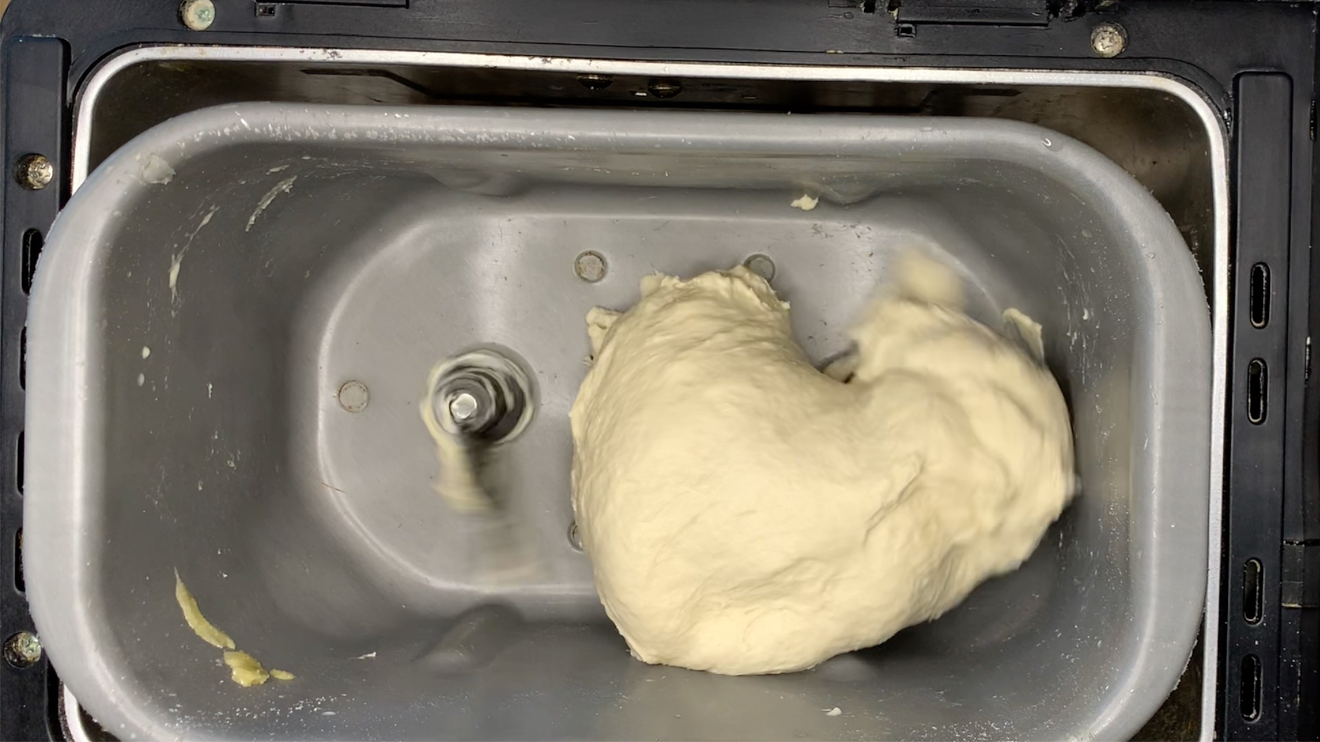 how the dough should appear