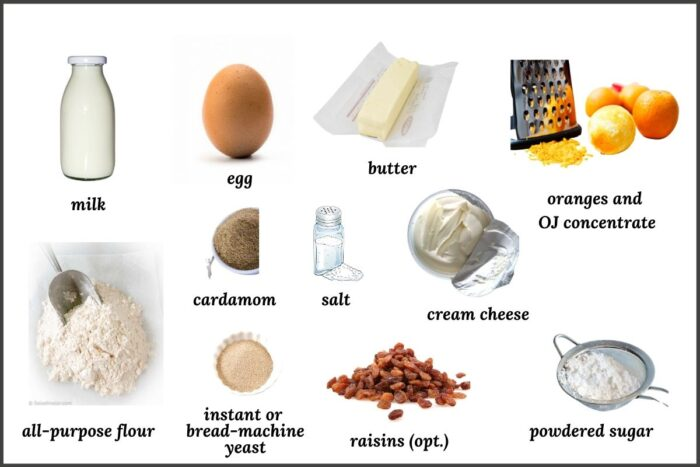a picture of all the ingredients needed for this recipe