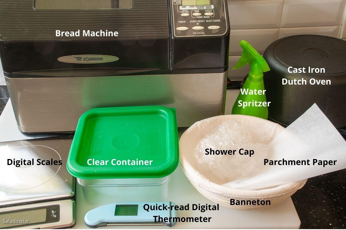 equipment for sourdough bread