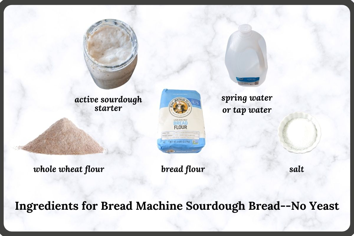 ingredients needed to make this bread recipe