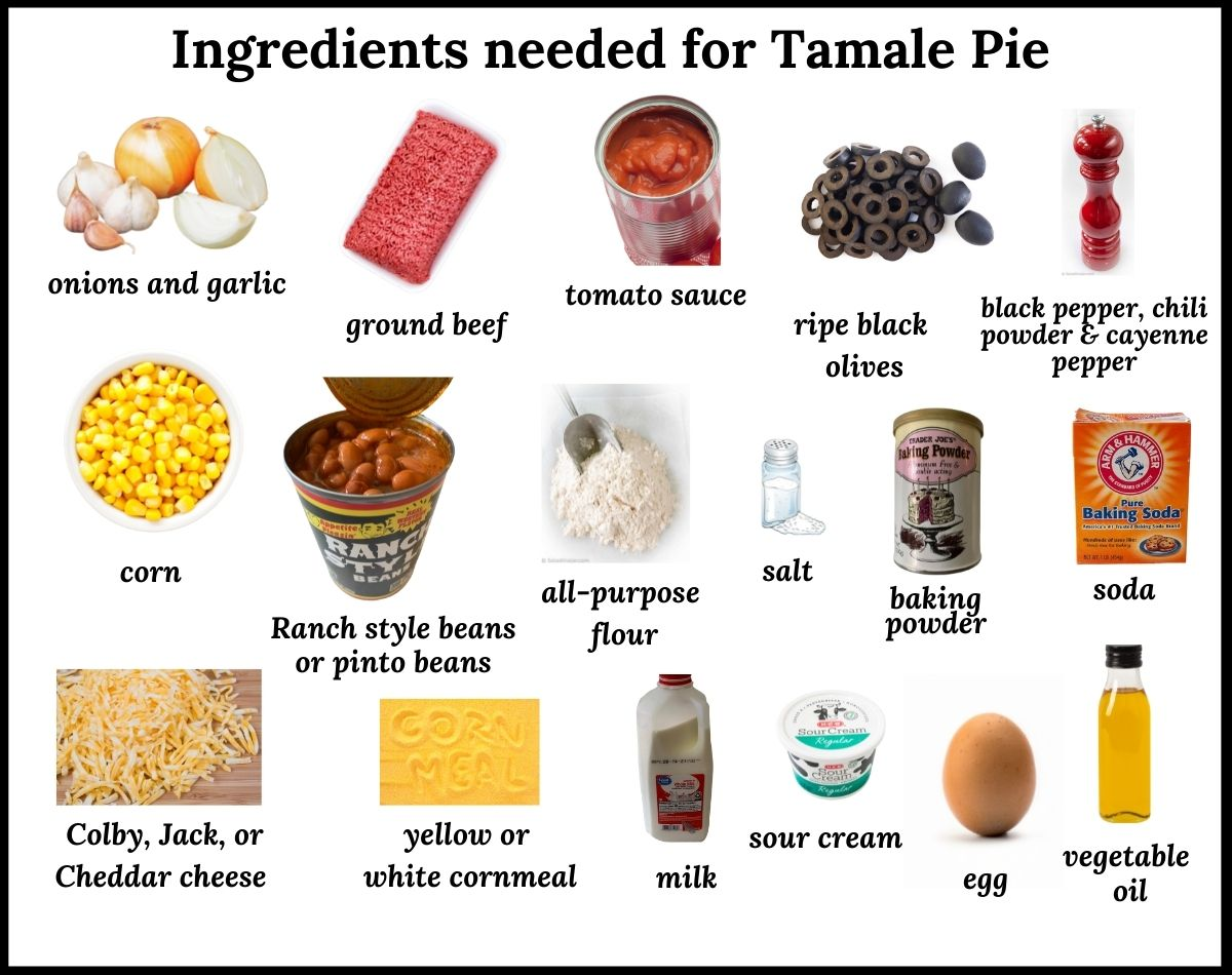ingredients needed for tamale pie